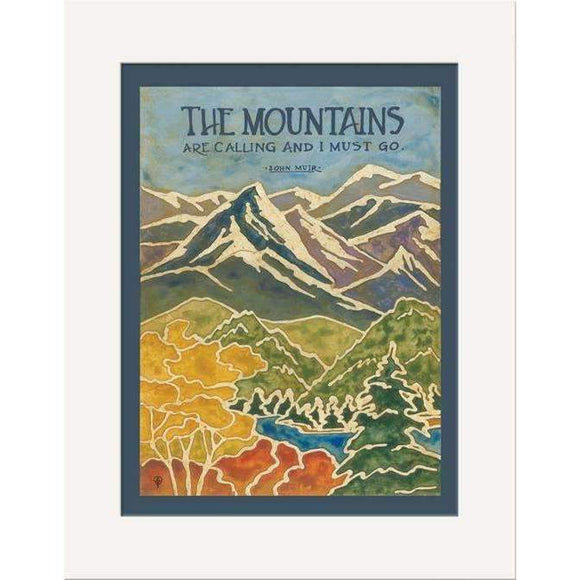 The Bungalow Craft Decor Julie Leidel Muir Mountains Print