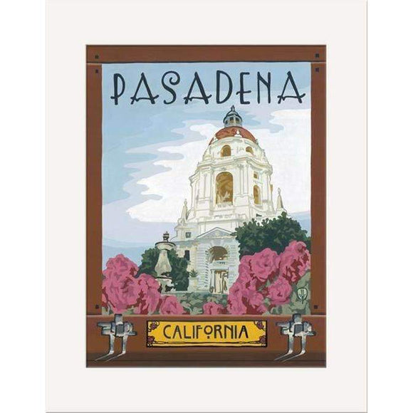 The Bungalow Craft Decor Julie Leidel Pasadena Print 11 x 14 Flat Art Canvas