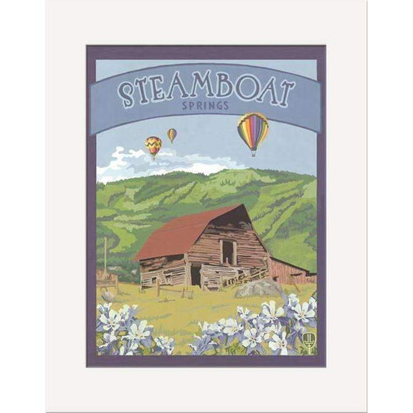 The Bungalow Craft Decor Julie Leidel Steamboat Springs Print