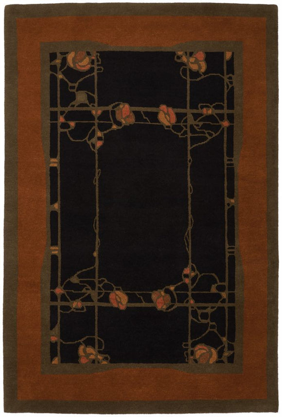 Tiger Rug Rug Pasadena Midnight Wool Rug