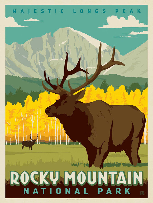 True South Puzzle Gifts Rocky Mountain National Park Puzzle
