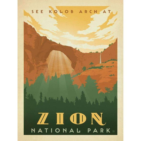 True South Puzzle Gifts Zion National Park