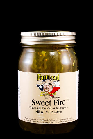 Sweet Fire Pickles & Peppers