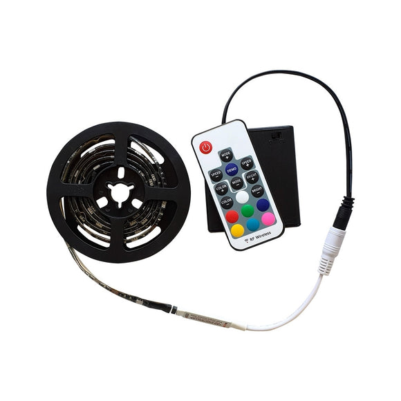 Battery Operated  RGB LED Kit 3ft WP