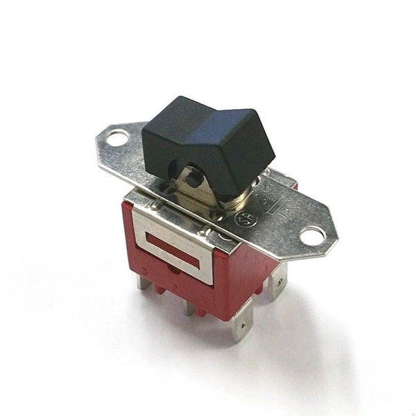 C&K 9221J1Z4QD2  DPDT ON-ON Rocker Switch  10A @ 125V AC / 28V DC