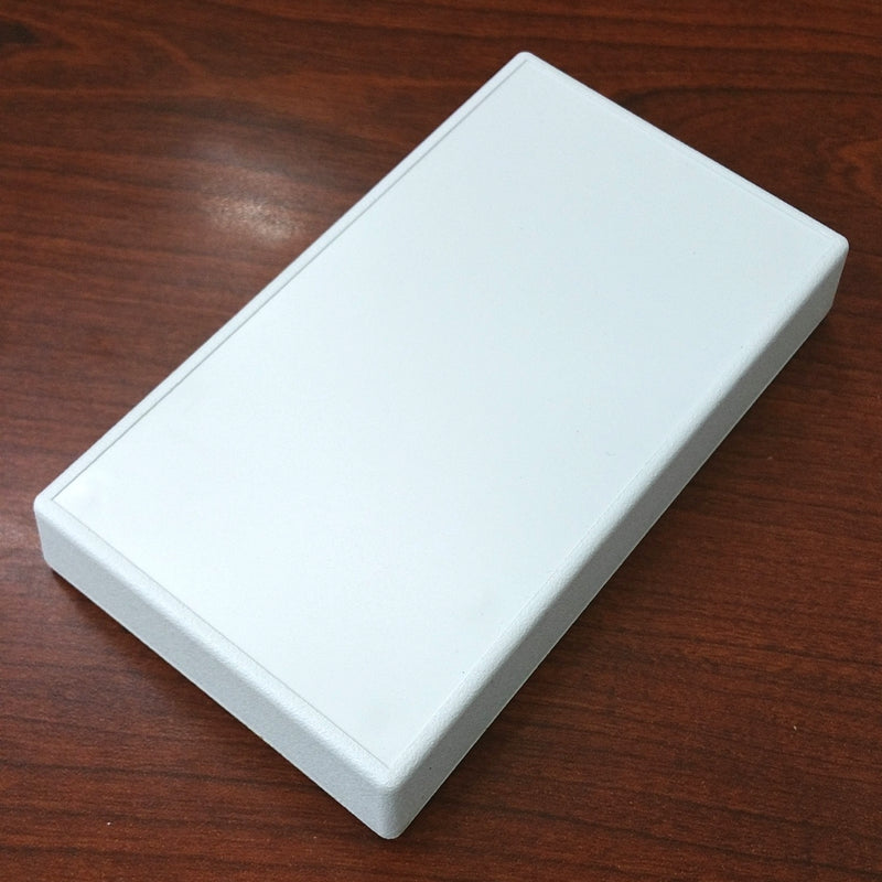 "Serpac 051I White Chassis Box Enclosure 5.62"" x  3.25"" x 0.90"" with Inset"