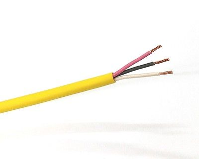 25' 3 Cond 22 Gauge Stranded Unshielded, CL3P/CMP Plenum Cable 150C 3C 22AWG - MarVac Electronics