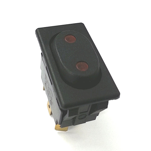 NEW McGill 0862-2312 DPDT ON-OFF-ON Euro-Style 125V AC Lighted Rocker Switch