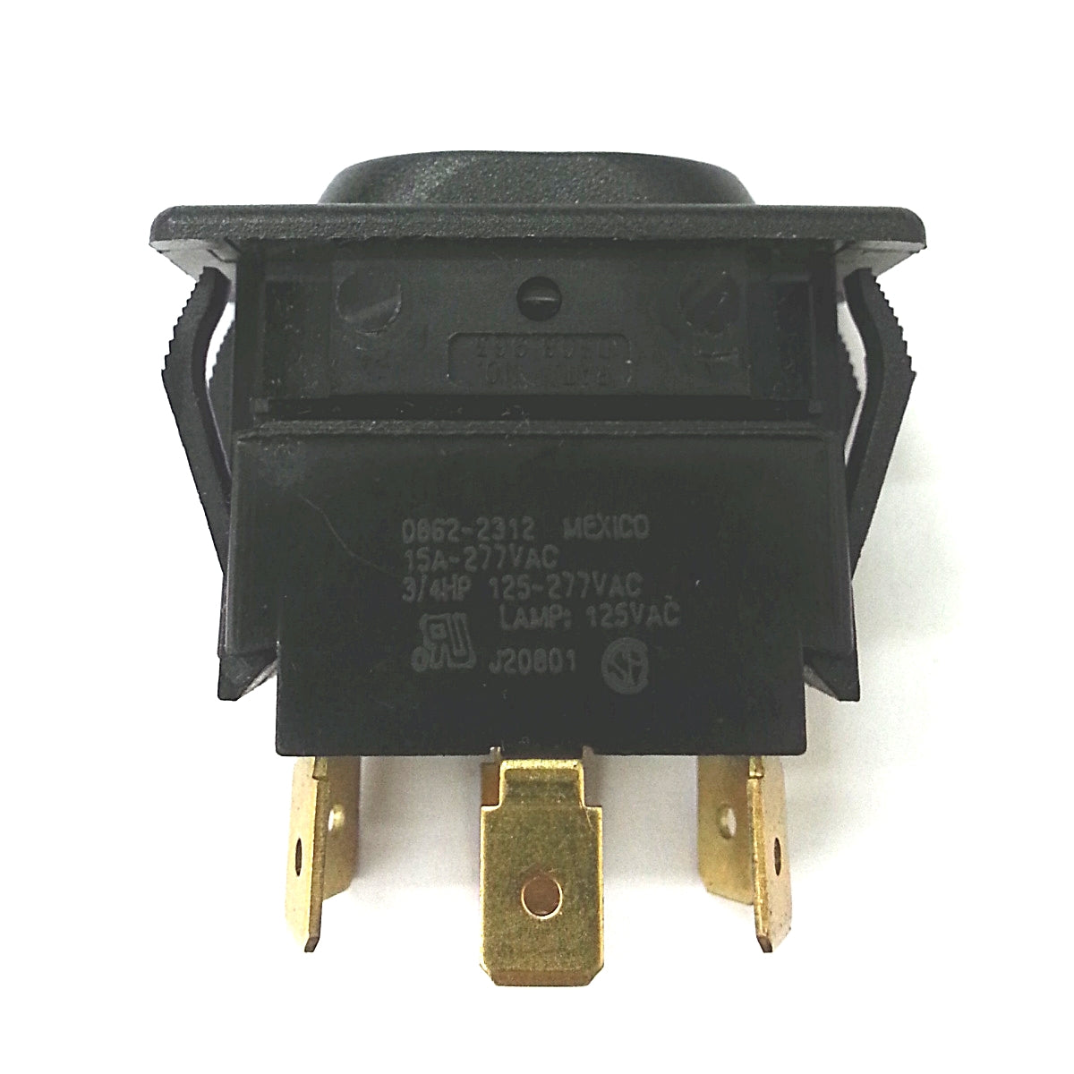 NEW McGill 0862-2312 DPDT ON-OFF-ON Euro-Style 125V AC