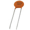 NTE 90410 Ceramic Disc Capacitor, 0.10UF, 1KV, Z5V ~ 2 Pack