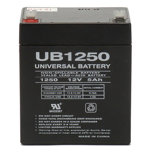 12V 5AH SLA Battery F2 Terminals UB1250 F2