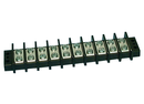 Philmore 13-1710 10 Position Dual Row Terminal Block Barrier Strip ~ 75A @ 600V