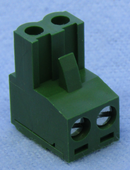 Philmore 13-2602, 2 Position Horizontal Female Euro Mag DePluggable Terminal Block