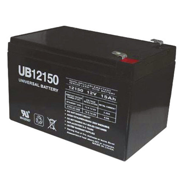 12V 15AH SLA  Sealed Lead Acid Battery F1 Terminals UB12150 UPG