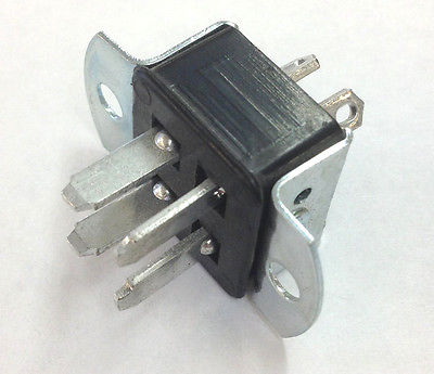 Cinch Jones P304AB 10 Amp Panel Mount Male 4 Pin Connector - MarVac Electronics