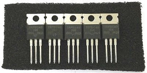 Lot of 5 International Rectifier IRFBC40G 6.2A 600V N Channel Power Mosfets - MarVac Electronics