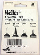 "Weller WDT-12A Antistatic Desoldering Tip .12"" - MarVac Electronics"