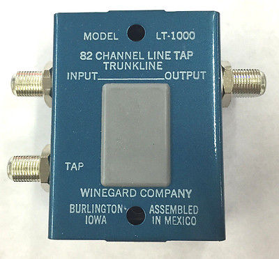 Winegard LT-1000 82 CH Line Tap Trunkline Single Output - MarVac Electronics