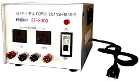 Philmore # ST3000, 3000 Watt Step Up / Step Down Transformer, 110V AC/220V AC