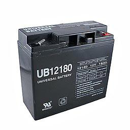 12V 18AH SLA Sealed Lead Acid  Battery F2 Terminals UB12180 F2 UPG