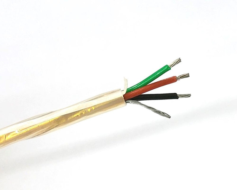 10' Belden 85240 3 Conductor 20 Gauge Shielded ETFE Tefzel® Cable 3C 20AWG - MarVac Electronics