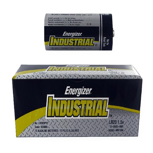 D  Industrial Batteries 12pk EN95