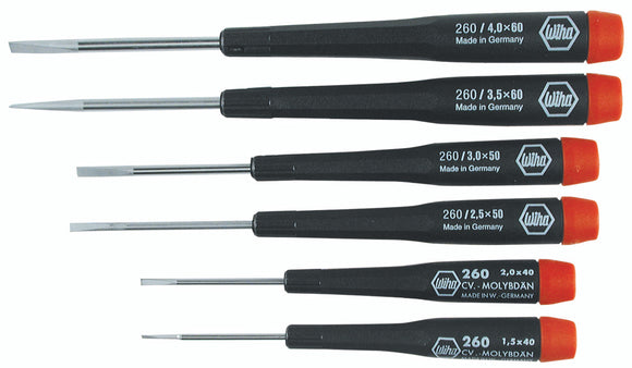 6PC PRECISION SLOTTED SET 26090