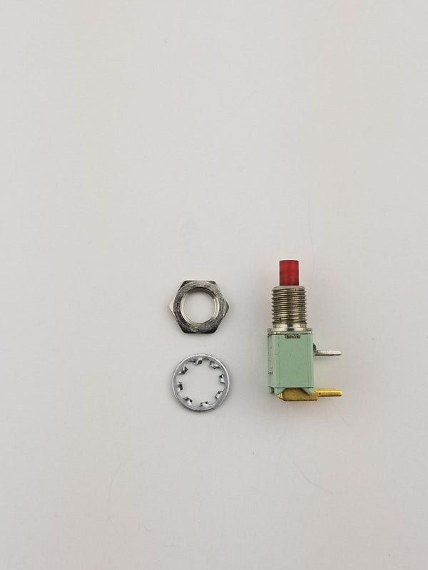 Alco TPC11FGRA2 ON-(ON) DPST Momentary Push Button Switch .4VA 20VDC