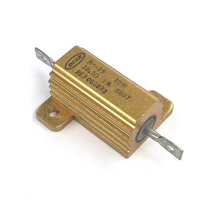 Dale RE70G38R3 38.3 Ohm 1% 20 Watt Metal Power Resistor 20W MIL-PRF-18546 - MarVac Electronics