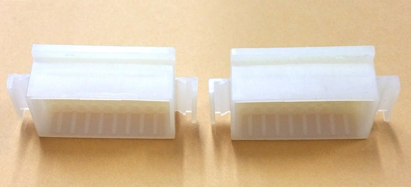 "1 Pair of Molex 03-06-2361 36 Circuit 0.062"" Male Connector Housings ~ NO PINS"
