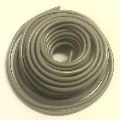 40' Length 18 Gauge 18AWG GREY GPT PVC Stranded 50V Automotive Hook Up Wire