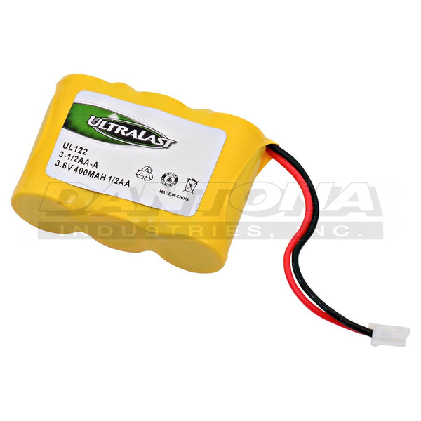 3.6V 400MaH NiCad Battery 3-1/2AA-A