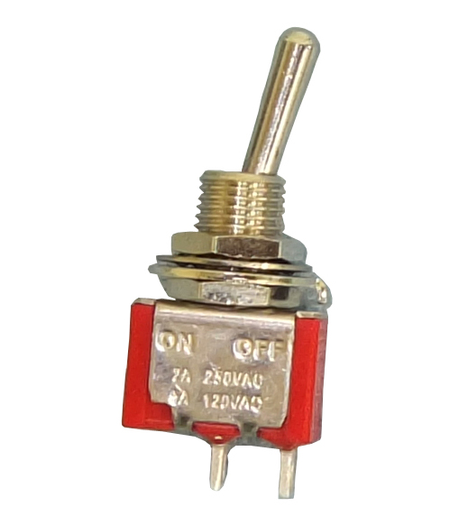 Philmore # 30-10007 SPST ON-OFF Mini Toggle Switch 5A@120V/28V DC