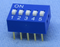 Philmore 30-1005 5 Position DIP Switch, 2.54mm Spacing ON-OFF 100mA@50V DC