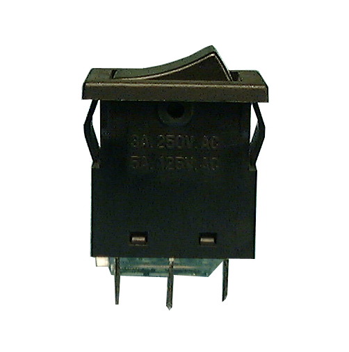 Philmore 30-10088 SPDT ON-OFF-ON, 13x19 Snap-In Rocker Switch 5A@125V AC