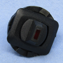 Philmore 30-10622 SPDT ON-ON Red Lighted, Paddle Lever Toggle Switch 10A@125V