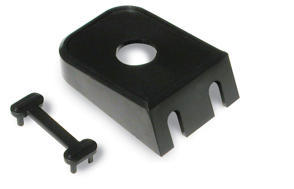 "Philmore 30-12585 1/2"" (0.50"") Round Hole Switch Bracket, 2 Pack"