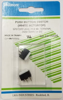 Philmore 30-14425 SPST OFF-(ON) Momentary 12mm x 9.9mm Push Button Switches 2 Pk