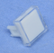 "Philmore 30-14538 Clear Lens for 0.60"" Square Lighted Push Button Switches"
