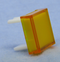 "Philmore 30-14539 Yellow Lens for 0.60"" Square Lighted Push Button Switches"