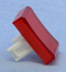 "Philmore 30-14542 Red Lens for 0.60"" x 0.85"" Rectangular Lighted Push Button"