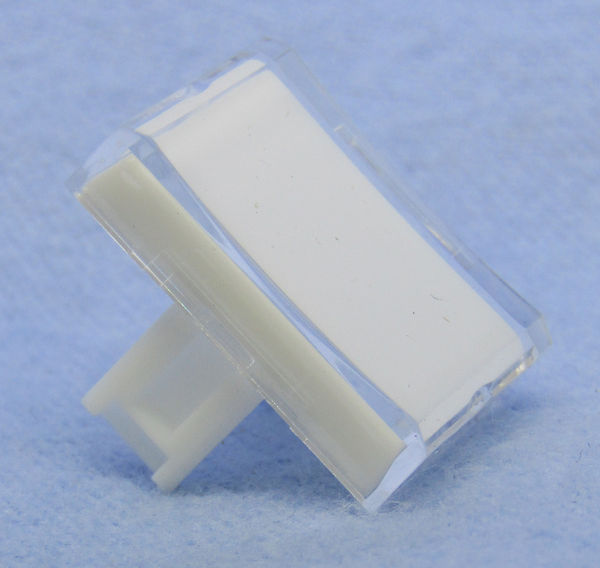 "Philmore 30-14543 Clear Lens for 0.60"" x 0.85"" Rectangular Lighted Push Button"