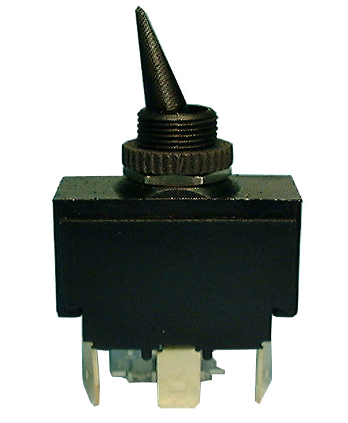 Philmore 30-152 SPDT (ON)-OFF-(ON) Nylon Toggle Switch 20A @ 125V AC, 10A @ 250V AC