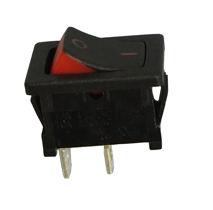 Philmore 30-16605 SPST OFF-ON, Bi-Color Mini Snap-In Rocker Switch 10A@125V AC