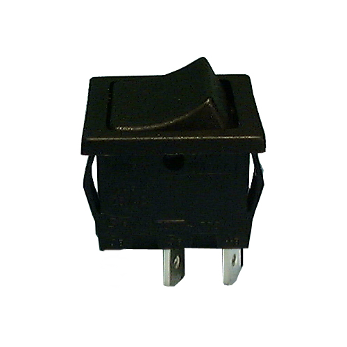 Philmore 30-16607 SPST OFF-ON, 13x19 Mini Snap-In Rocker Switch 10A@125V AC
