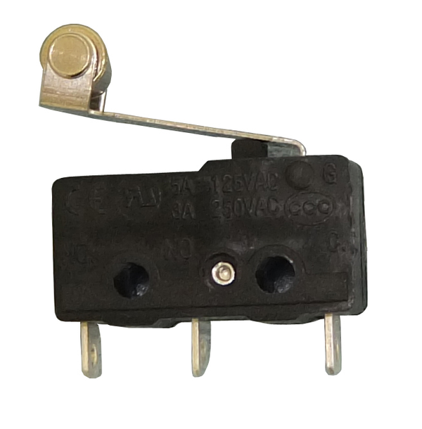 Philmore 30-2505 SPDT ON-(ON) Roller Lever, Sub-Mini micro Switch 5A@125V AC