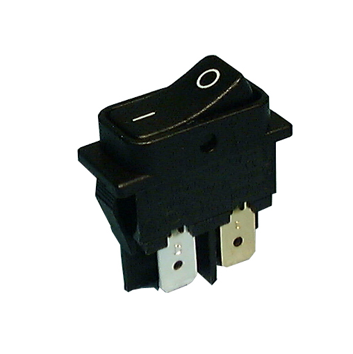 Philmore 30-250 DPST OFF-ON, Miniature Snap-In Rocker Switch 10A@125-250V AC