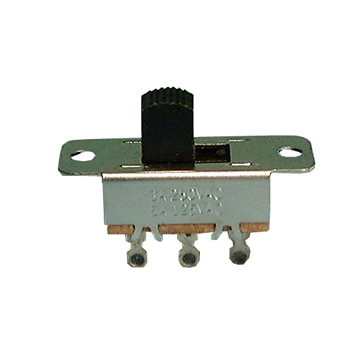 Philmore 30-9182 DPDT ON-ON Standard Slide Switch 6A@125V AC