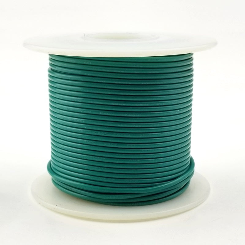 24 GA Green Solid 100 Ft 300 volt  HS24-05-100