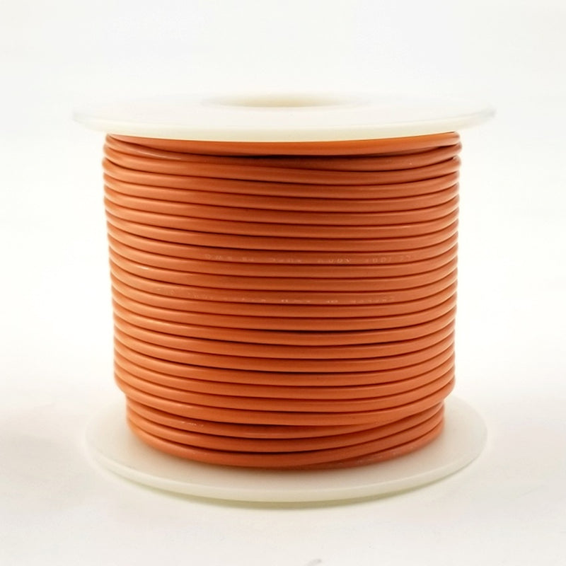22 GA Orange Stranded 100 Ft 300 volt  H22-03-100
